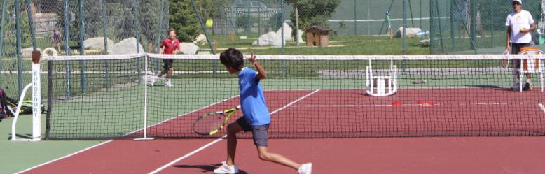 cours de tennis enfant